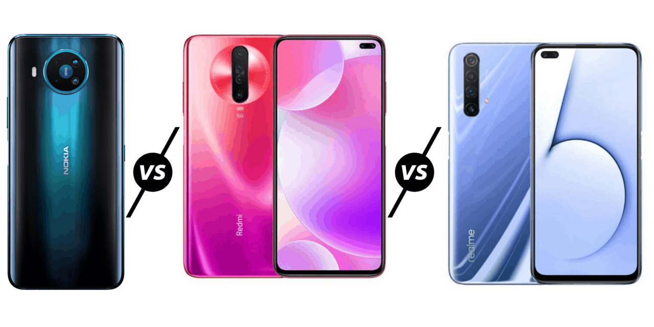 Nokia 8.3 5G vs Redmi K30 5G vs Realme x50 – Which is the best affordable 5G phone?