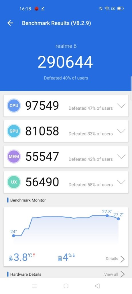 Qualcomm Snapdragon 720G vs 730G vs 712 vs 665 vs MediaTek Helio G90t Performance Analysis – Comparing Realme 5 vs 6 & 6 Pro 1