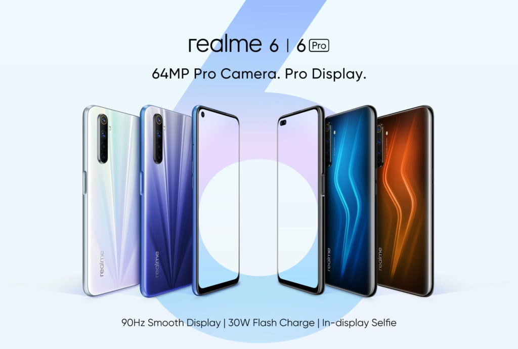 Realme 6 and 6 Pro will launch in the EU & UK on 24th of March - Realme 6i to launch in Asia. 3