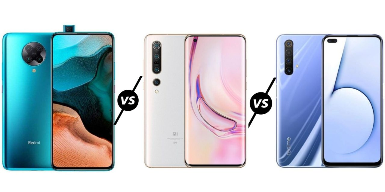 Xiaomi Redmi K30 Pro & Pro Zoom Edition vs Mi 10 Pro 5G vs Realme X50 Pro 5G – Is the K30 the best affordable flagship?