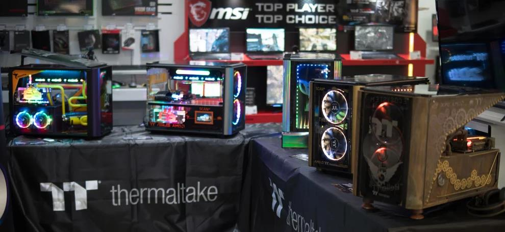 Thermaltake 2020 Case Mod Challenge Event Day at Scan in Bolton 2
