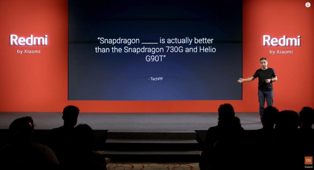 Redmi Note 9 Pro Max announced with Snapdragon 720G – conveniently skipped Helio G90T & SD730G performance comparisons (Antutu is lower than Helio G90T) 2