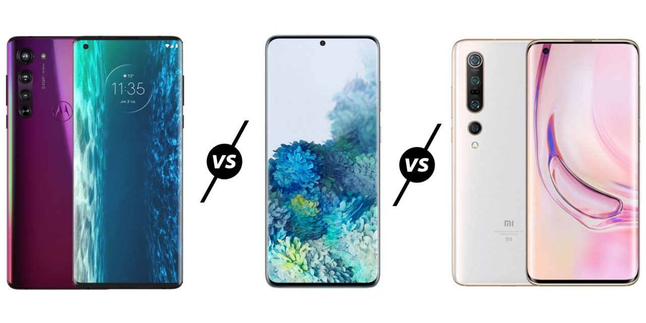 Motorola Edge+ vs Samsung S20 Ultra vs Xiaomi Mi 10 Pro Compared – Which is the best 108MP camera phone? And why the hell is only one of them available in the UK?