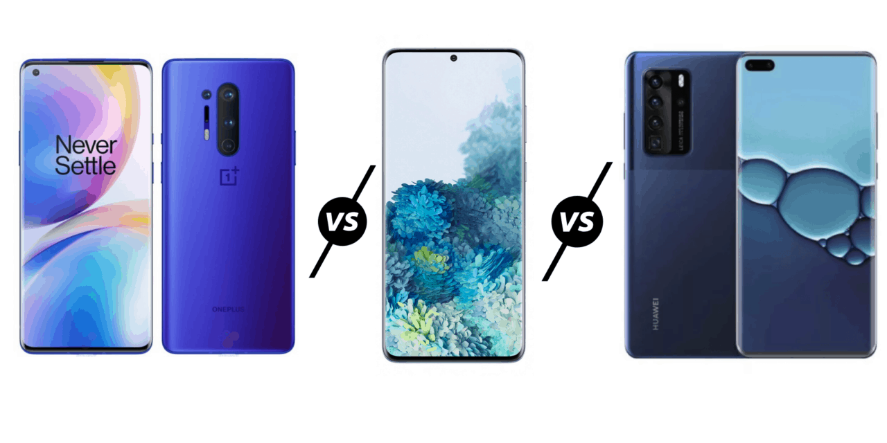 OnePlus 8 vs 8 Pro vs Samsung Galaxy S20 Plus vs Huawei P40 Pro – A big price rise for OnePlus puts them close to other premium flagships