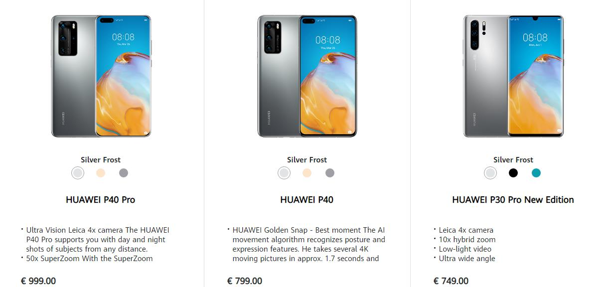 Huawei P30 Pro New Edition is just the old edition with a lower RRP but more expensive than the P30 Pro on Amazon