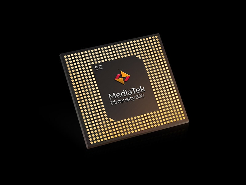 MediaTek Dimensity 820 goes official with a significant boost to CPU frequencies vs Dimensity 800