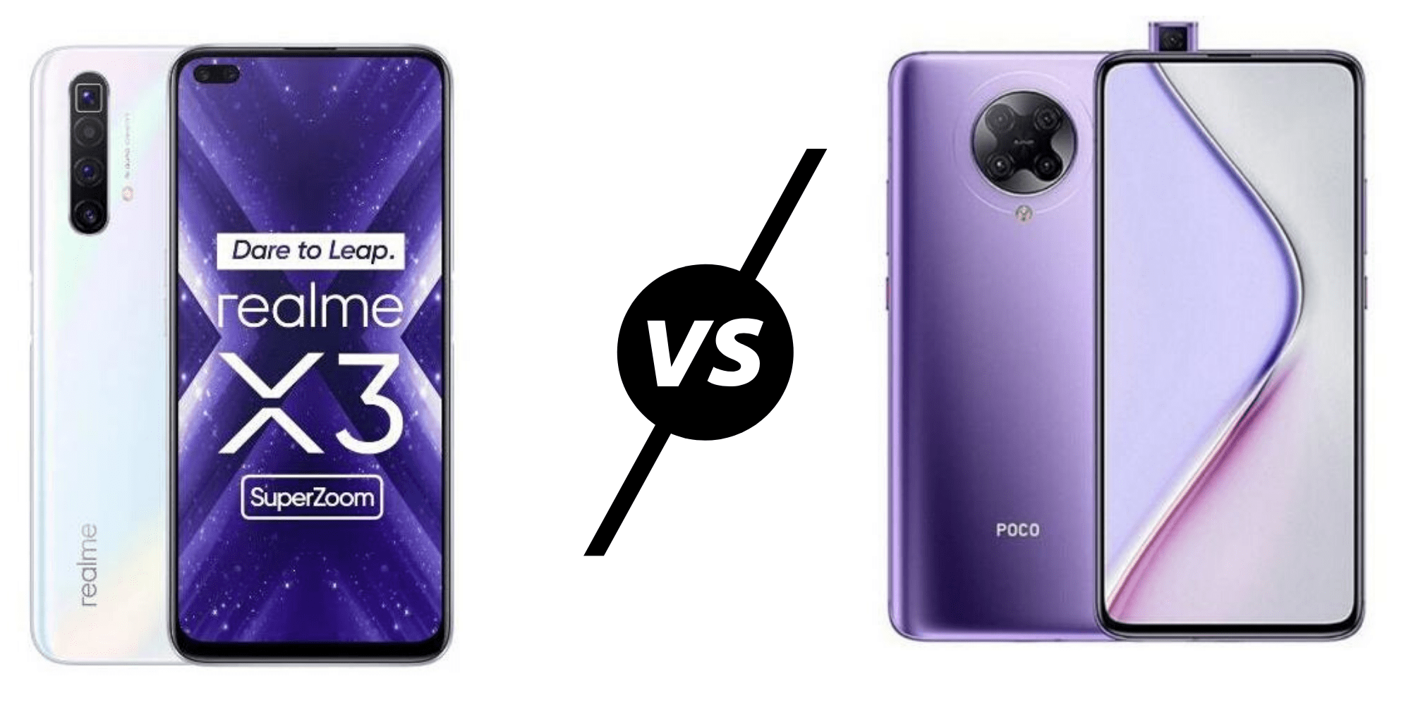 Realme X3 SuperZoom vs Poco F2 Pro / Redmi K30 Pro – Do you want a better  camera or better chipset & display?