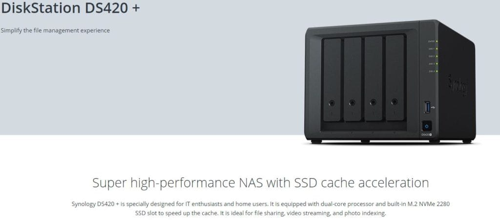 Synology D9220+ vs DS420+ vs DS918+ vs DS418play – New faster NAS solutions coming with DDR4 & NVMe support (now with DS720+) 2