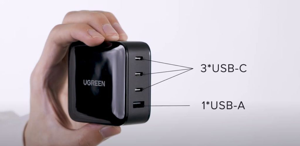 UGREEN 65W 4-Port GaN PD Charger for just £30 via Indiegogo 1