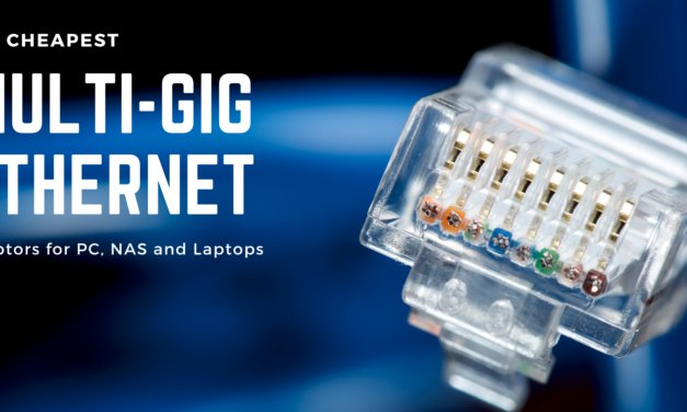 The cheapest 10G/5G/2.5G Ethernet PCie Network Cards (NIC) and USB Adaptors for Windows, NAS, Laptops and more