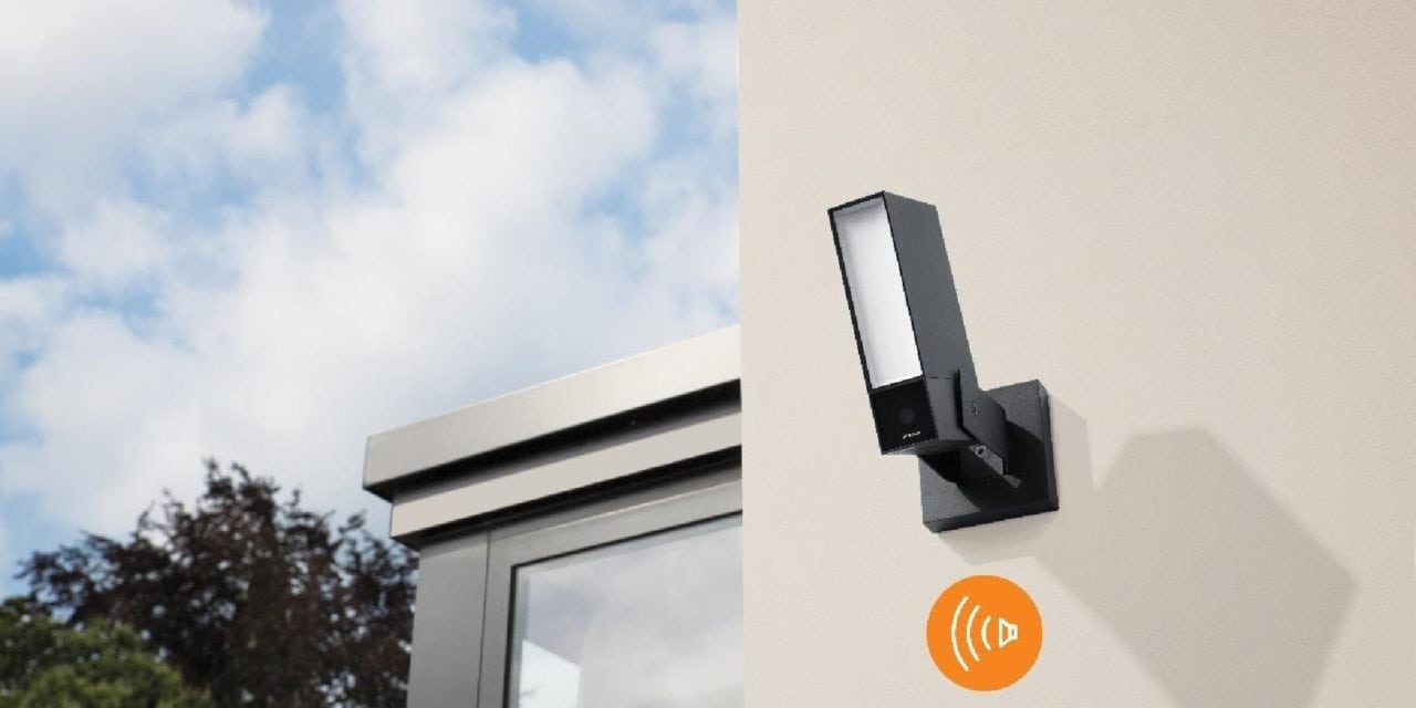 Netatmo Smart Outdoor Camera (Presence) gets upgraded with Siren – Pre-order now for £319.99