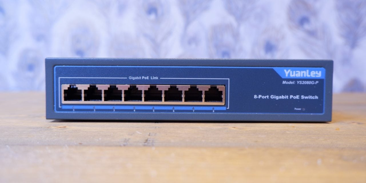 YuanLey 8 Port Gigabit 120W PoE Switch Review – The cheapest gigabit POE switch on the market is actually good