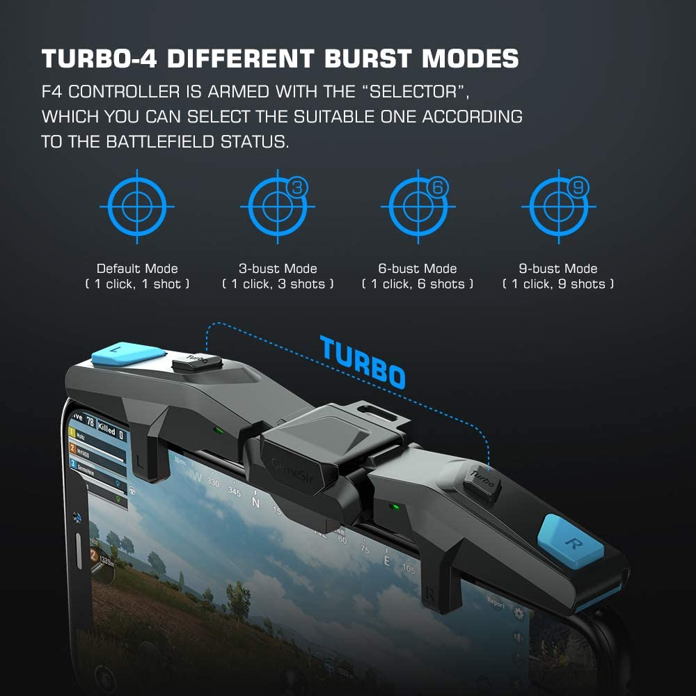 GameSir F4 Falcon Mobile Gaming Controller Review – Physical shoulder buttons for your phone with universally compatibility & no app or pairing. 1