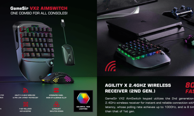 GameSir VX2 AimSwitch Review: teclado y mouse mecánico para juegos para tu PS4, Nintendo Switch y Xbox One