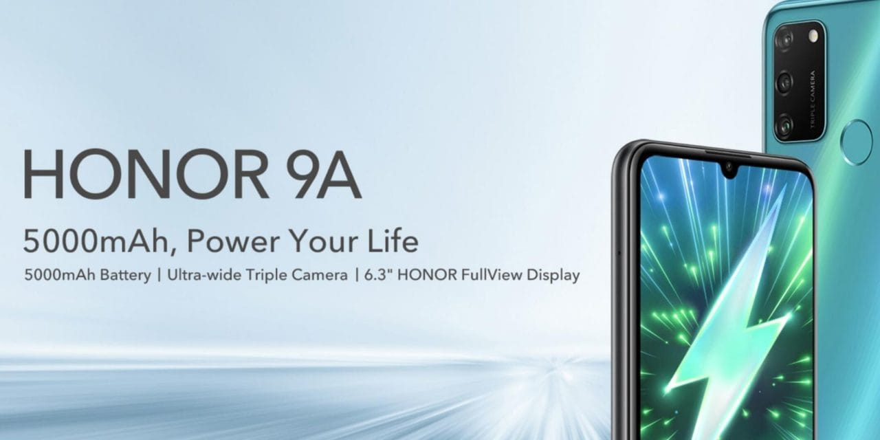 Honor 9A launched for just £129.99 + VIP Day promotions at hihonor.com