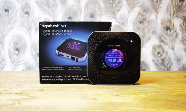 Nighthawk M1 Mobile Router Review with a Voxi SIM for better than VDSL speeds when working at home