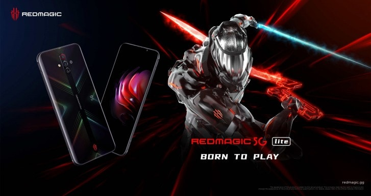 Nubia RedMagic 5G lite comes to Spain via Vodafone – No PAYG or Amazon options though & costs more than the flagship 2