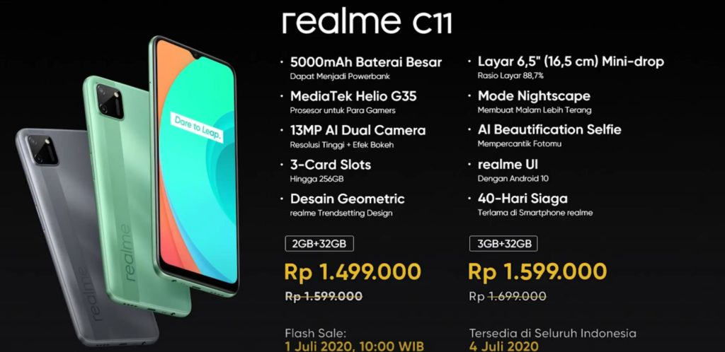 Realme C11 Launched - Cortex A53 based 12nm MediaTek Helio G35 scores 100k+ in Antutu. Phone costs just £82 for 2GB/32GB   (in Malaysia) 6