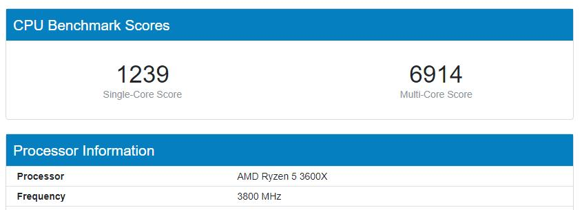 AMD Ryzen 5 3600XT vs 3600X vs Intel Core i5-10600K & i7-10700K Geekbench shows impressive gains compared to Intel & the older  3600X 2