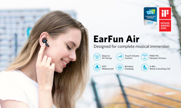 EarFun Air True Wireless Earbuds Review – IPX7 rating with a superb battery makes a decent set of fitness orientated earphones – TW200