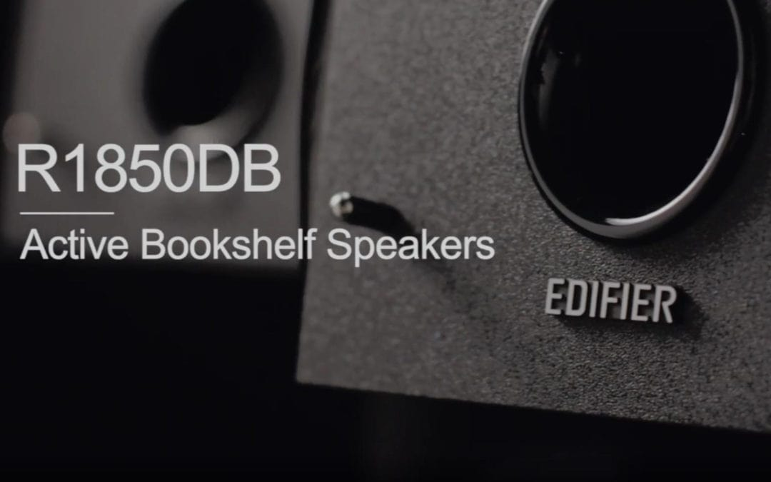 Edifier R1850DB Active Bookshelf Studio Speakers Review