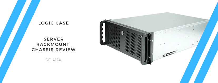 Logic Case 4U Server Rackmount Chassis Review – A perfect Plex server chassis on a budget (SC-415A)