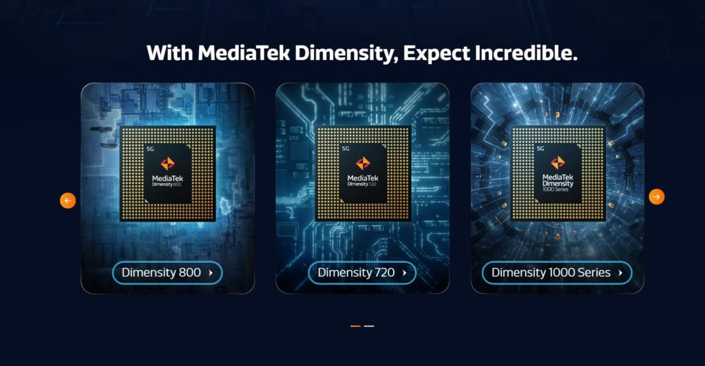 Mediatek Dimensity 720 vs