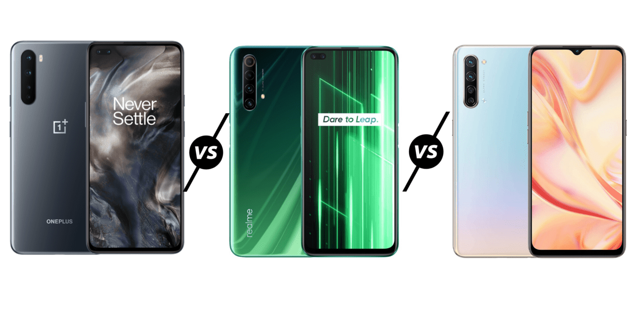 OnePlus Nord vs Realme X50 vs Oppo Find X2 Lite – 80-quid extra for that OLED display
