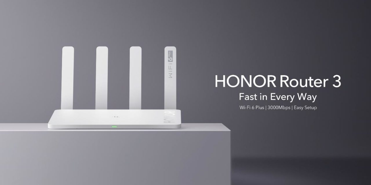 Honor Router 3 launched – Cheapest Wi-Fi 6 router in the UK