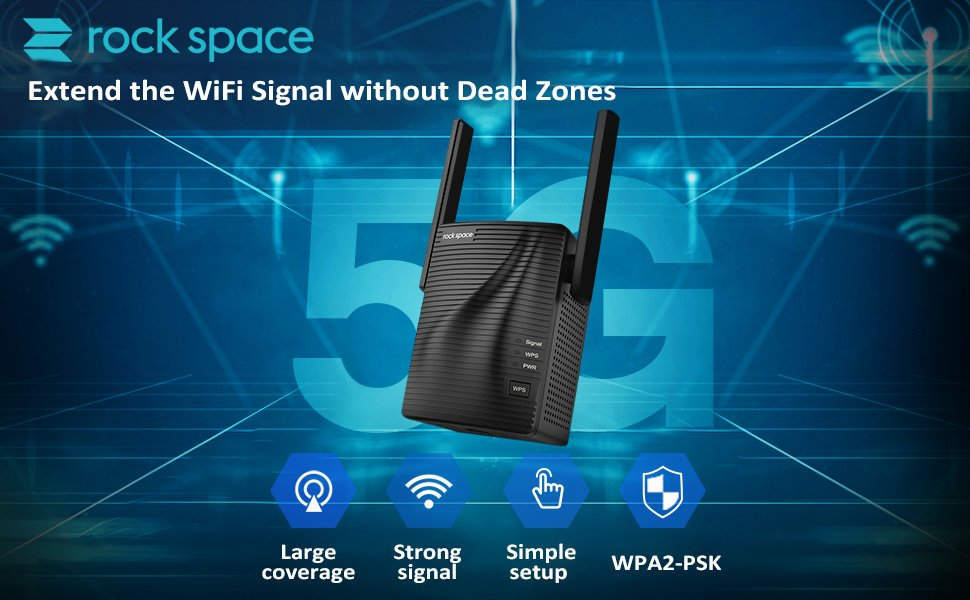 Rock Space AC 1200 Dual Band WiFi extender Review – A useful WiFi booster that's cheaper than a mesh WiFi system