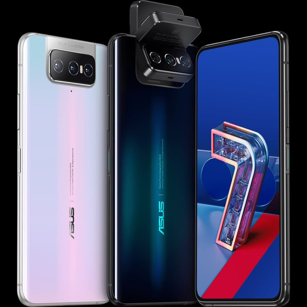 Asus Zenfone 7 & 7 Pro Announced with SD865 (+ for the Pro), 64MP+12MP ultrawide+8MP zoom flip lens & 90Hz OLED display. 8