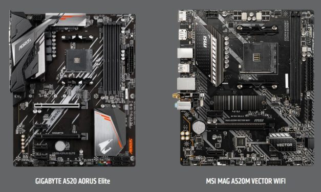 AMD A320 vs A520 vs B450 vs B550 Chipset Comparison – Is A520 worth it over the older similarly priced B450?