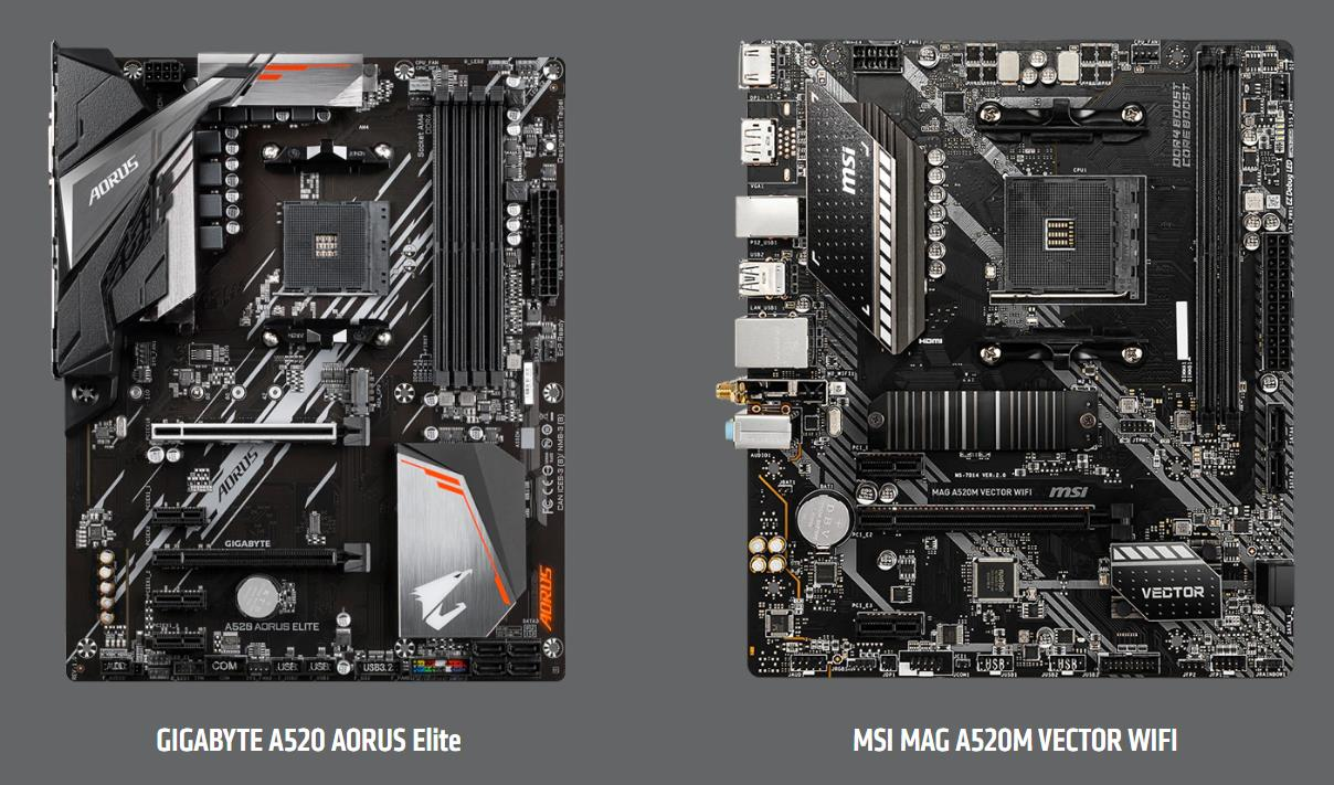 Amd A320 Vs A520 Vs B450 Vs B550 Chipset Comparison Is A520 Worth It Over The Older Similarly Priced B450 Mighty Gadget Blog Uk Technology News And Reviews