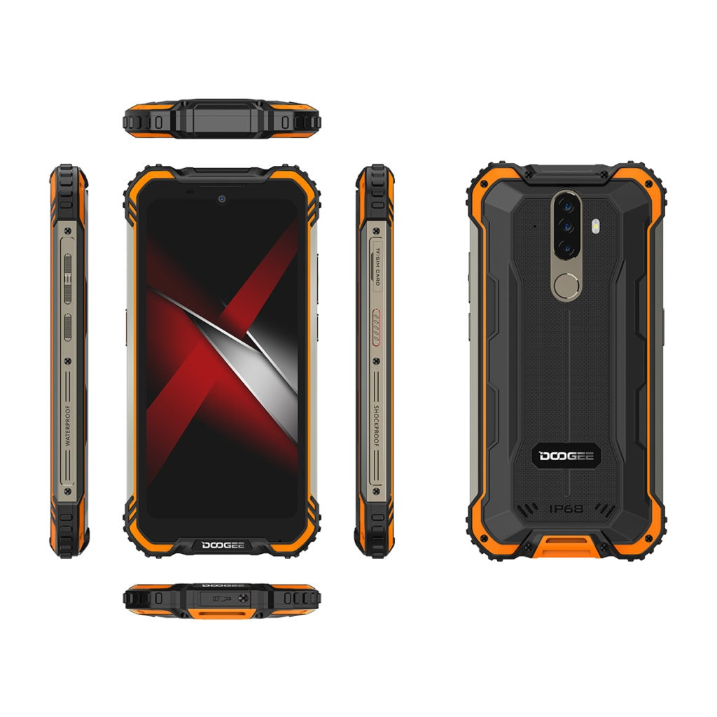 DOOGEE introduces the tough and affordable S58 Pro Android rugged smartphone 2