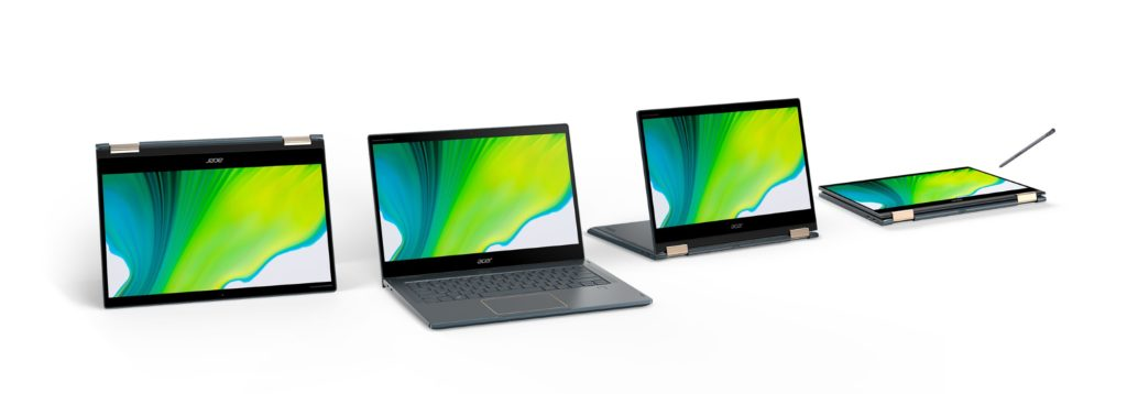 Acer Spin 7 first laptop with Qualcomm Snapdragon 8cx Gen 2 5G Windows on Arm Notebook Launched with 24 Hour Battery Life 2