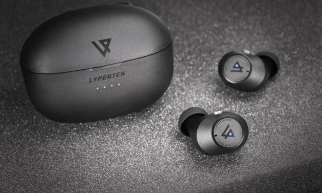 Lypertek LEVI True Wireless earphones Announced with 8 hours play & IPX5 for £69