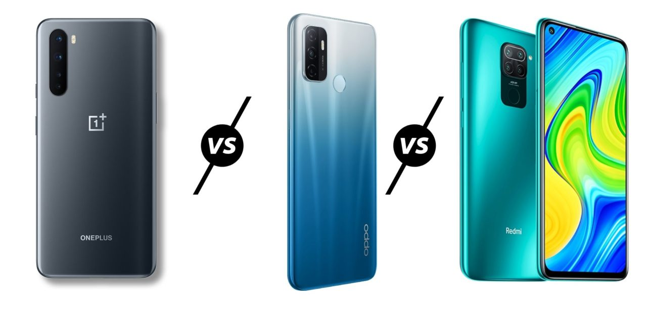 OnePlus Clover vs Oppo A53 vs Redmi Note 9 Compared & Benchmarked – OnePlus has a new budget phone