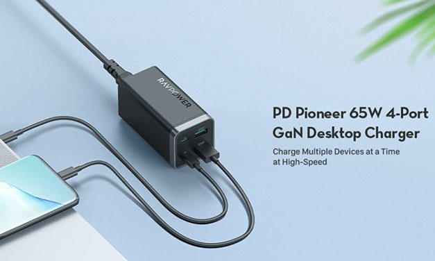 RAVPower PD Pioneer 65W 4-Port GaN USB-C Charger Review