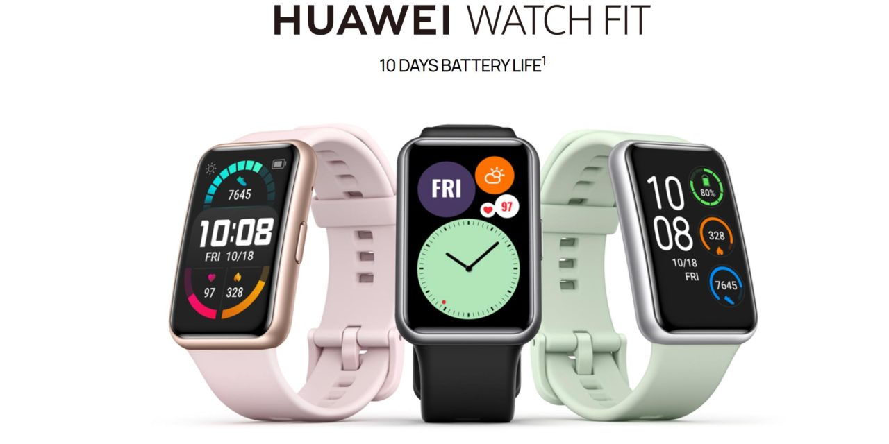 Huawei Watch Fit costs £20 more than the  Honor Watch ES but has built-in GPS