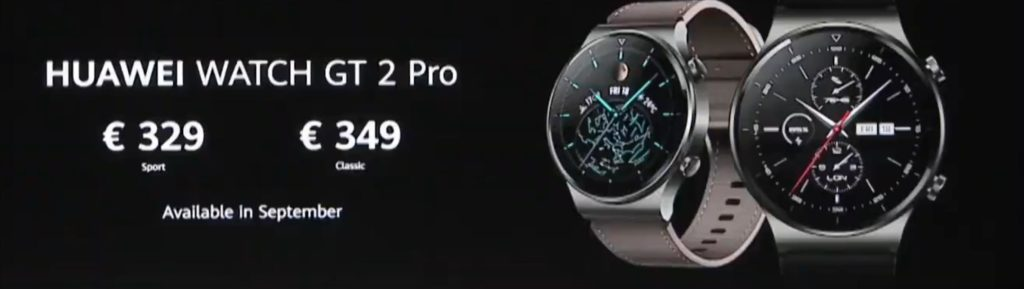 Huawei Watch GT 2 Pro vs GT2 vs Honor Watch GS Pro – Huawei Watch GT 2 Pro offers a premium build quality with stylish looks for a fashionable alternative to the Honor Watch GS Pro 20