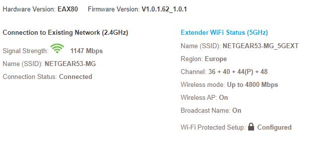 Netgear Nighthawk AX8 Wi-Fi 6 Mesh Extender Review (EAX80) – Smart roaming support allows you to keep your SSID 6