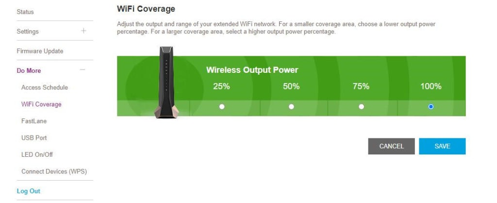 Netgear Nighthawk AX8 Wi-Fi 6 Mesh Extender Review (EAX80) – Smart roaming support allows you to keep your SSID 4