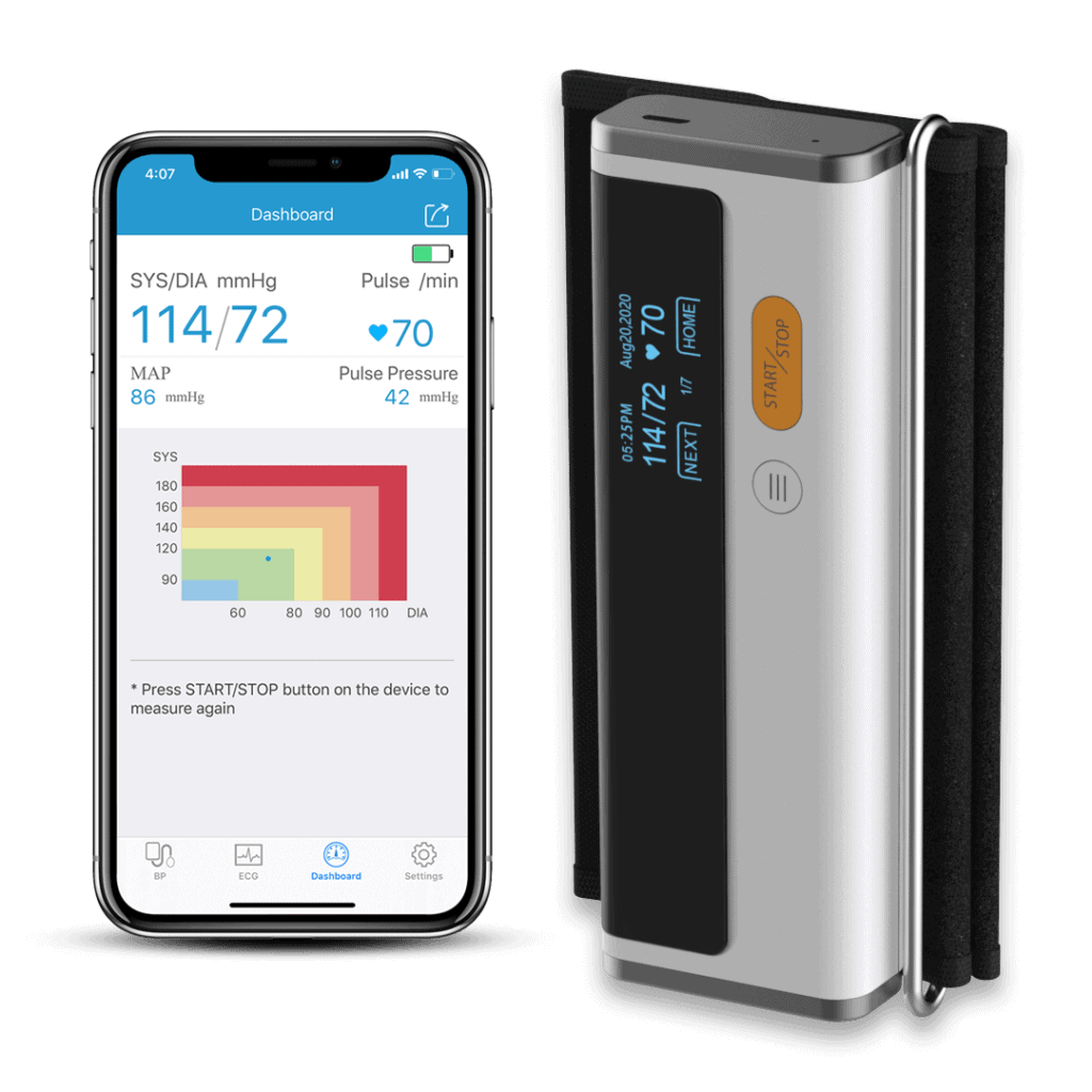 Wellue Blood Pressure Monitor and ECG is an affordable option to monitor your heart health 1