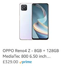 Oppo Reno 4 Z with MediaTek Dimensity 800 & 120Hz LCD launches today for £329, Reno4 5G with SD765G for £449 3