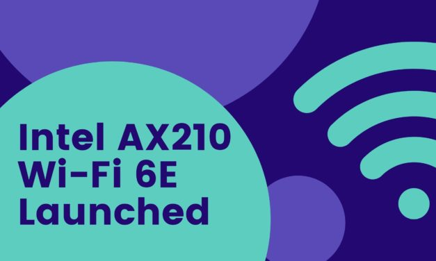 Wi-Fi 6E is here, sort of. Intel Wi-Fi 6E AX210 network adapter now available, but no routers with Wi-Fi 6E yet