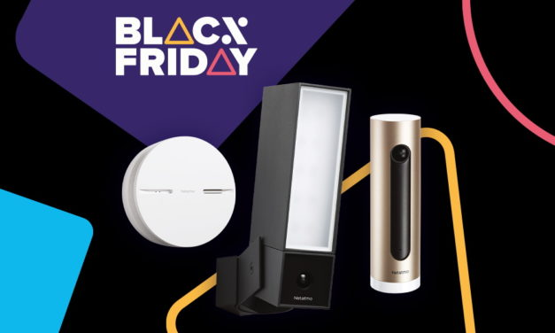 Netatmo Black Friday Deals on Amazon including floodlight camera, weather station and smoke alarm