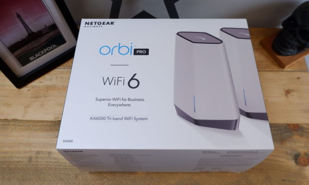 Netgear Orbi Pro WiFi 6 Tri-Band AX6000 WiFi System Review  – Cloud Managed WiFi 6 for your Business [SXK80]