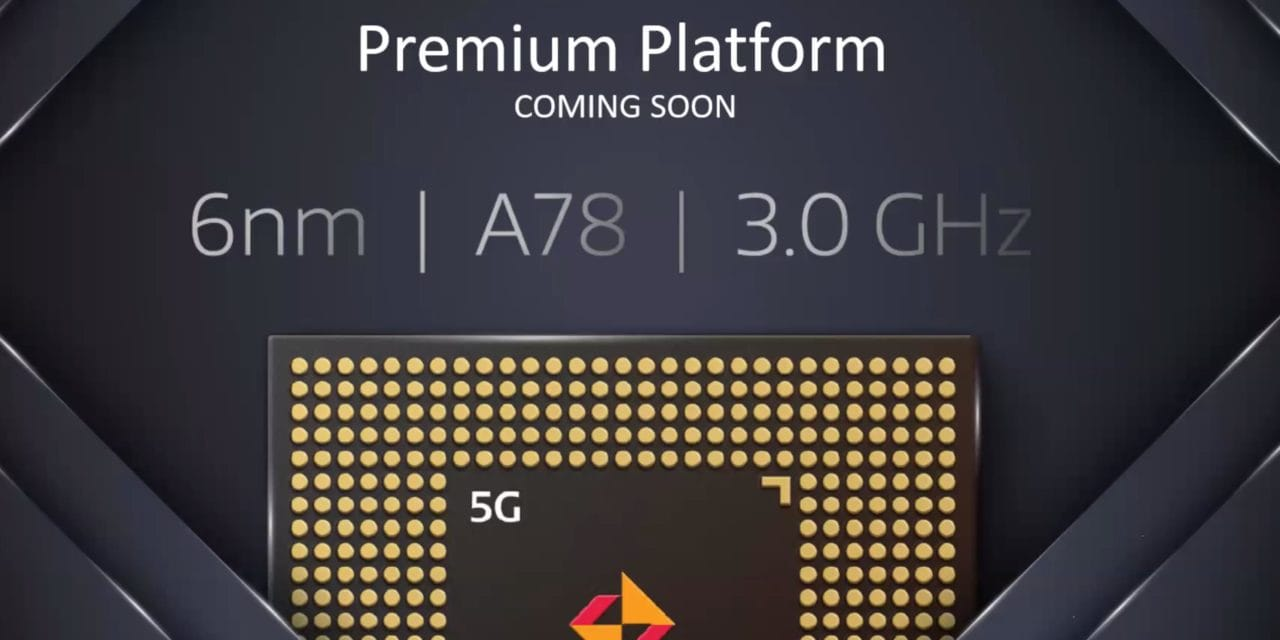 6nm MediaTek MT689X aims to take on Qualcomm Snapdragon 875 & Exynos 1080 with 3.0Ghz A78 Cores