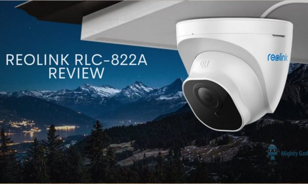 Reolink RLC-822A 4K Security Camera Review – 3x zoom & wide angle make this superior vs RLC-820A & RLC-810A