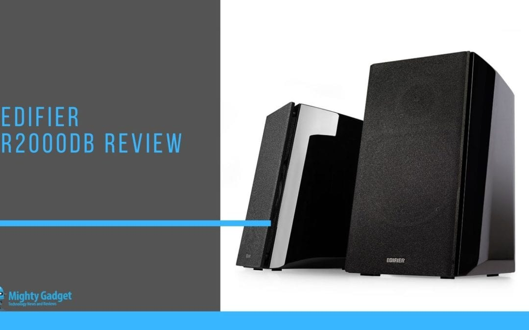 Edifier R2000DB Review  – Active bookshelf speakers for superior PC audio